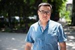 Кайгуул ТВ программасынын алып баруучусу Азият Жекшеевдин архивдик сүрөтү