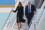 АКШ президенти Дональд Трамптын жубайы Меланья менен