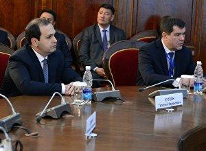 Президент Алмазбек Атамбаев принял руководителей органов безопасности и спецслужб стран СНГ