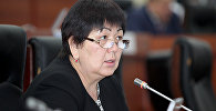 Депутат Жогорку Кенеша Карамат Орозова. Архивное фото