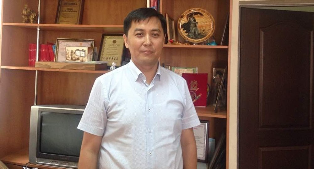 Бишкек шаардык иш менен камсыз кылуу башкармалыгынын башчысы Бактыбек Усупбеков