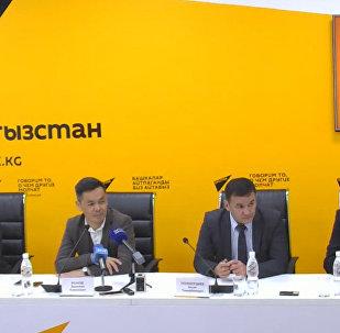Планы озеленения Бишкека обсудили в пресс-центре Sputnik Кыргызстан