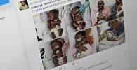 Шестеро детей родившиеся в семье из Нигерии Аджибола и Адебойя Тайво живущих в США. Фото со страницы Твиттер пользователя Pst. Gbenro