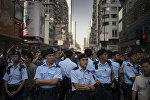 Кытай мамлекетинин полиция кызматкерлери. Архив