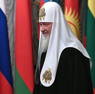 Москванын жана бүткүл Россиянын патриархы Кириллдин архивдик сүрөтү