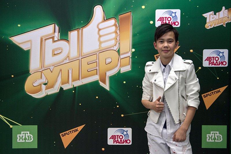 12-летний Урмат Мырсаканов на музыкальном шоу для талантливых воспитанников детских домов Ты супер!