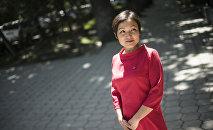 СДПК фракциясынан Жогорку Кеңештин депутаты Аида Касымалиева
