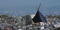 Бишкекский мусорный полигон. Архивное фото
