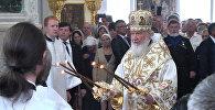 Глава Русской православной церкви освятил храм в Бишкеке