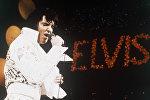 Рок-н-ролдун падышасы атыккан атактуу ырчы Элвис Преслинин архидвик сүрөтү