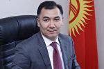 Жогорку Кеңештин мурунку депутаты Равшан Жээнбековдун архивдик сүрөтү