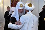 О чем говорили верховный муфтий КР и патриарх Кирилл — кадры со встречи