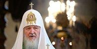 Патриаршее служение в праздник Казанской иконы Божией Матери в Успенском соборе Кремля