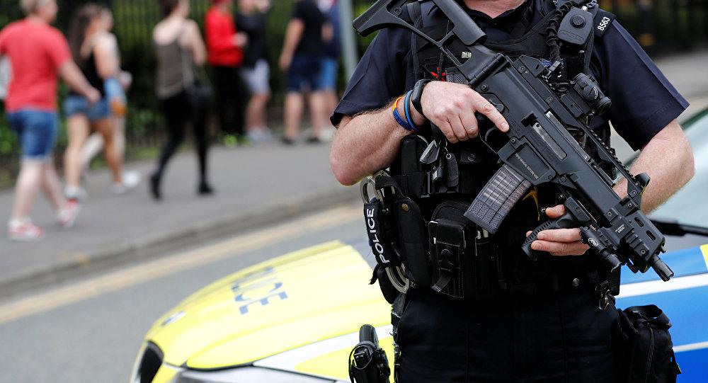 Сотрудник полиции Великобритании. Архивное фото