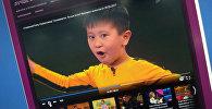 Снимок с официальной страницы Первого канала. Выступление юного Брюса Ли из Кыргызстана — Нурмухаммеда Ташмаматова