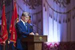 Торжественное мероприятие, посвященное 25-летию Вооруженных сил Кыргызстана