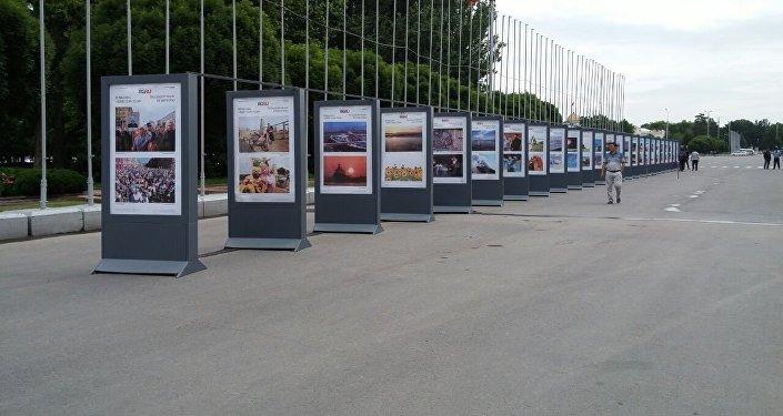 На площади Ала-Тоо открылась фотовыставка, посетить которую может каждый желающий
