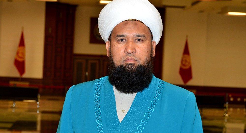 Кыргызстандын муфтийи Максатбек ажы Токтомушев. Архивдик сүрөт