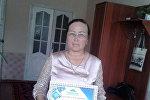 Каблан-Көл айылындагы №25 Эшкул Мурзаев атындагы мектептин мугалими Бурул Садыкова