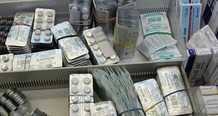 Ассортимент лекарственных препаратов. Архивное фото