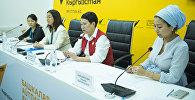 Пресс-конференция Презентация проекта Дети Кыргызстана — связь времен