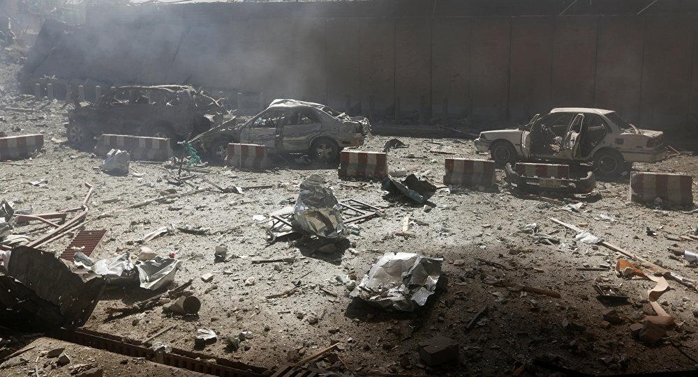 ВКабуле при взрыве повреждены сооружение посольства ирезиденция посла Египта