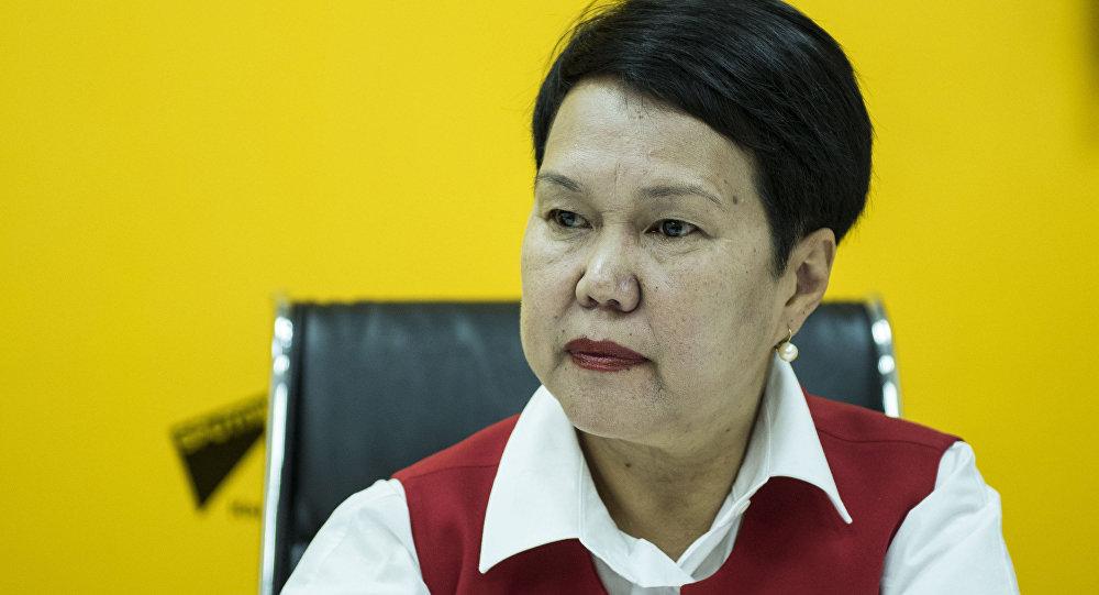 Начальник Управления образования мэрии Бишкека Сауле Мейрманова. Архивное фото