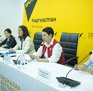 Пресс-конференция на тему Презентация проекта Дети Кыргызстана — связь времен