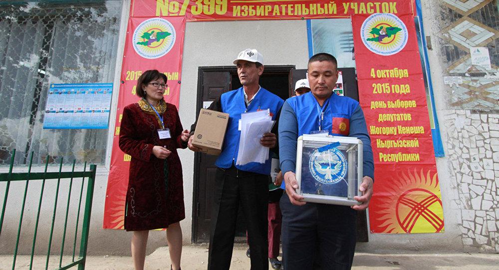 Атамбаев подписал закон опроведении президентских выборов 15октября