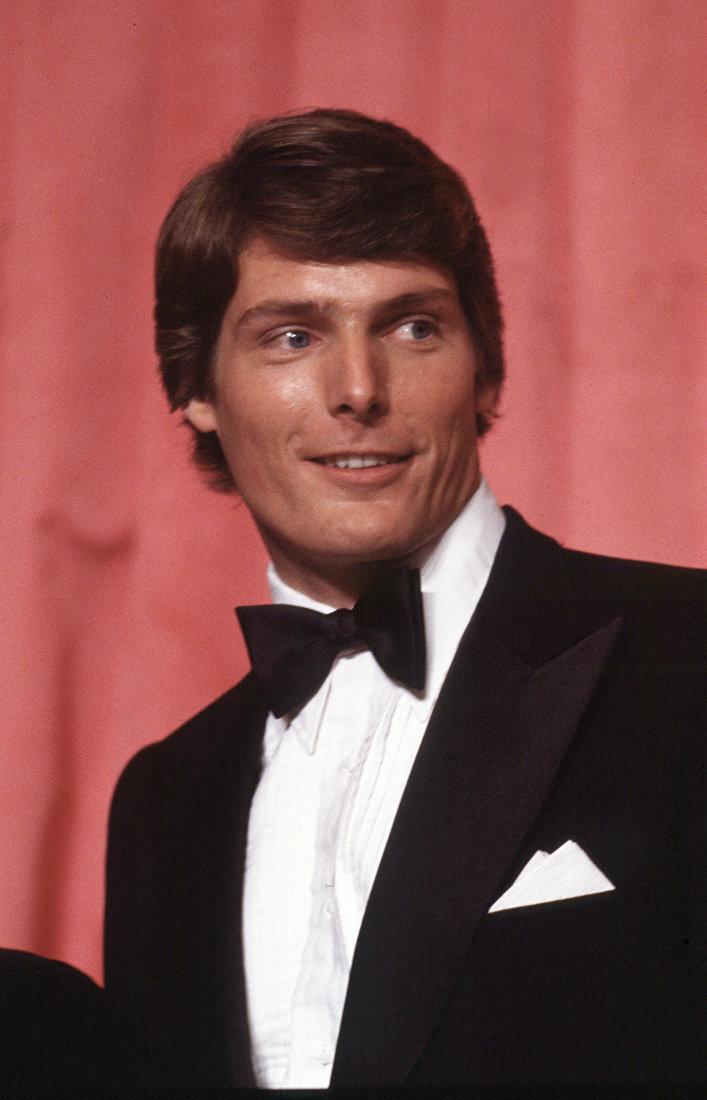 Актер Кристофер Рив на 51-й ежегодной церемонии вручения наград Академии в Лос-Анджелесе, Калифорния, 9 апреля 1979 года