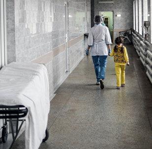 Медсестра с пациентом. Архивное фото