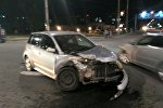 Бишкекте Gelandwagen менен Toyota Ist үлгүсүндөгү унаалар кагышты