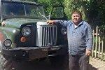 Силач из Таласа Нурлан Алишеров, известный как Ташчайнар, собрал внедорожник