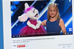 Снимок с видеохостинга Youtube канала America's Got Talent. Дарси Линн Фармер из Оклахомы