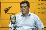 Миграция кызматынын Маалыматтык-консультациялык борборунун директор орун басары Алмаз Алыбаев