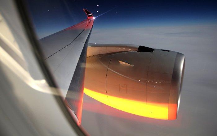 Самолет нового поколения Airbus a350-900 Singapore Airlines выполнил первый регулярный рейс в Россию