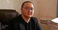 Архивное фото заместителя акима Первомайского района Бишкека Руслана Шарапова