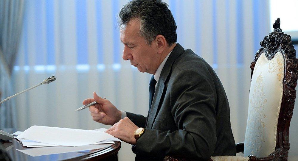 Экс-руководитель аппарата президента Кыргызстана Фарид Ниязов. Архивное фото
