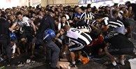 Италиянын Турин шаарындагы футбол көрө турган фан-аянтта Чемпиондор лигасынын финалын көрүп жаткан учурда жөөлөшүү болуп, 600дөй адам жабыркады
