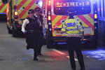 Лондон шаарындагы теракт болгон аймактагы полиция кызматкерлери