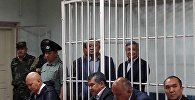 Архивное фото лидера партии Ата Мекен Омурбека Текебаева и экс-посла Дуйшенкула Чотонова