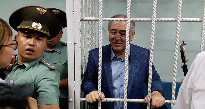 Лидер партии Ата Мекен Омурбек Текебаев. Архивное фото