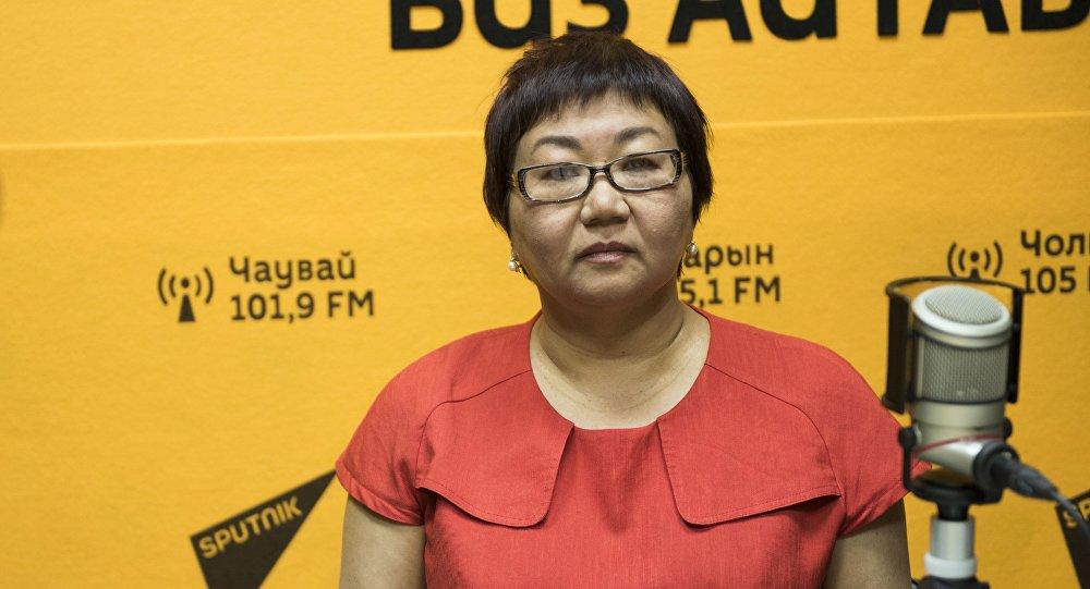Начальник управления соцразвития мэрии Бишкека Нарынкуль Эшенкулова