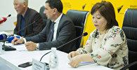 Пресс-конференция Санэпиднадзор об отравлениях и о заражениях в летний период