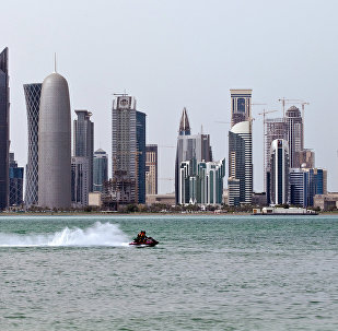 Вид на столицу Катара - город Доха. Архивное фото