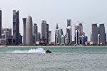 Катар мамлекетинин борбору Доха шаары. Архив