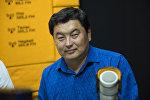 Юрист по вопросам ветеринарии и пастбищам Талант Солтобеков во время интервью Sputnik Кыргызстан