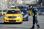 Москва шаарындагы жол кайгуул кызматкери. Архив