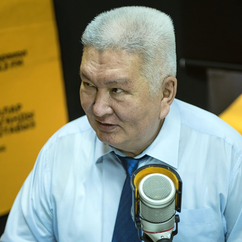 Экс-депутат, лидер партии Ар-Намыс Феликс Кулов во время интервью Sputnik Кыргызстан