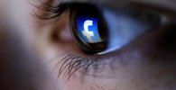 Фейсбук логотиби. Архивдик сүрөт